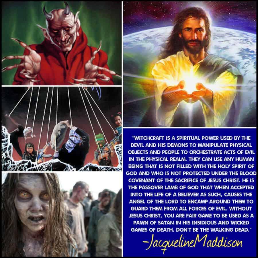 Evangelist Jacqueline Maddison